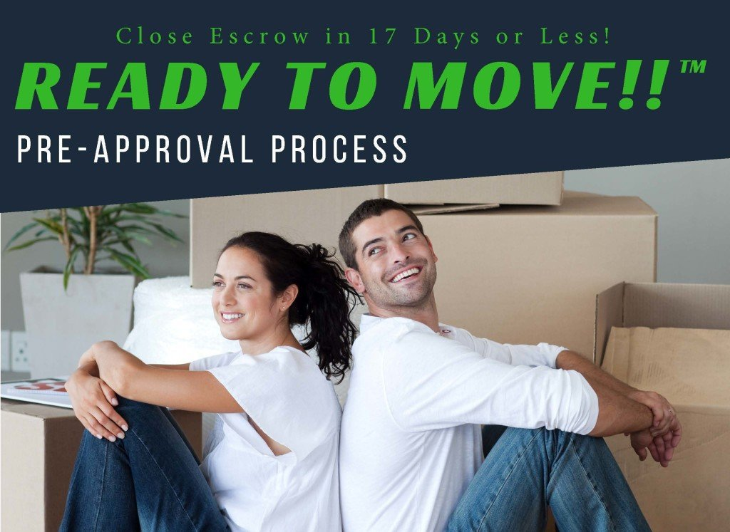 Ready to Move Pre-approval